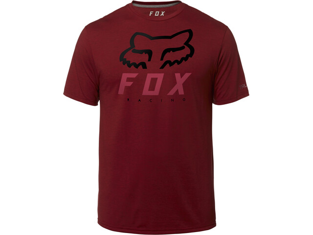 Fox Heritage Forger SS Tech T-Shirt Men, red